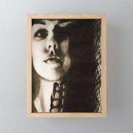Only Human Framed Mini Art Print