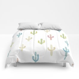 Cute Colorful Cactus Pattern Comforters
