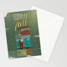 Stand Tall. Stationery Cards