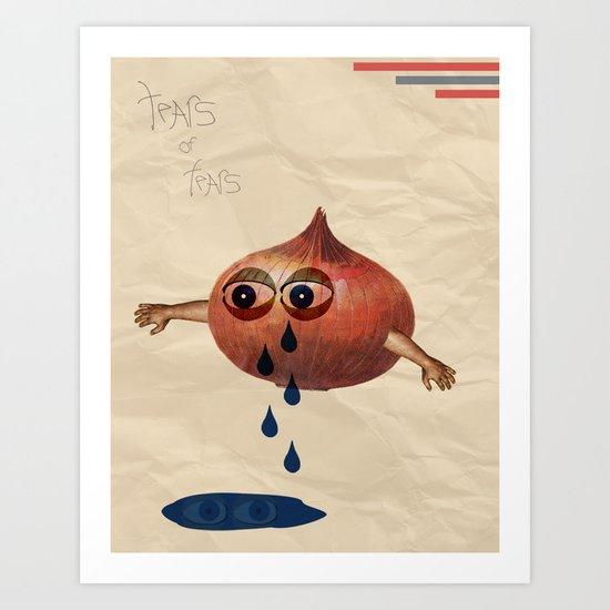 Tears of Fears. Art Print