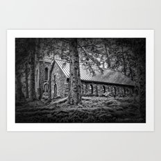 Church in the Woods Art Print