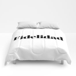 Fidelidad Comforters