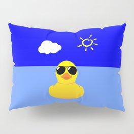 Cool Rubber Duck Yellow Pillow Sham