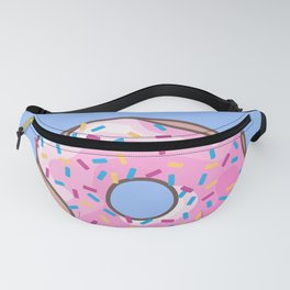 Pink Strawberry Donut Fanny Pack