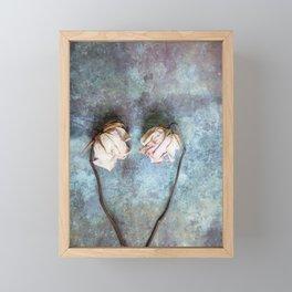 Heart of Roses II Framed Mini Art Print