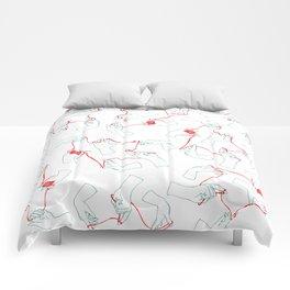 Fil rouge Comforters