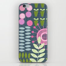 Golden Thyme and Silver Mint iPhone & iPod Skin