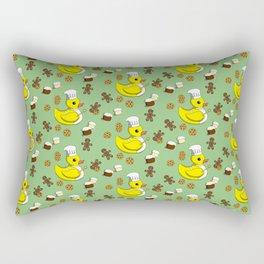 Baker Ducky Rectangular Pillow