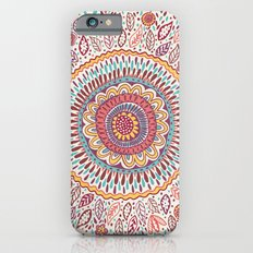 Sunflower Mandala Slim Case iPhone 6