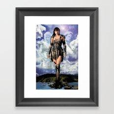 Xena: Warrior Princess Framed Art Print