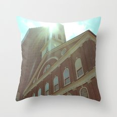 Faneuil Hall Throw Pillow