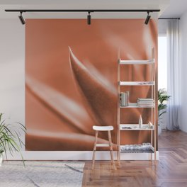 Succulent Leaves Coral Color #decor #society6 #buyart Wall Mural
