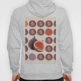 Figs on purple. Hoody