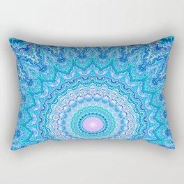 Frosty Opalescence Rectangular Pillow