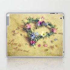 Love is all you need... Laptop & iPad Skin