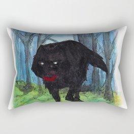 The Big Bad Wolf Rectangular Pillow