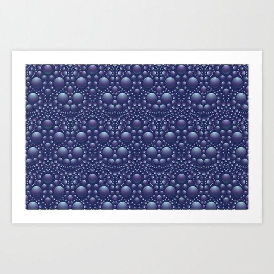 Moon Unit Small Scale Art Print