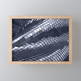 Steel armor Framed Mini Art Print