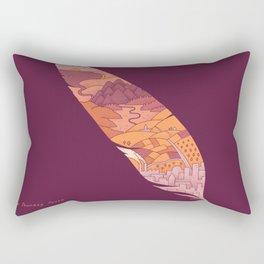 The Journey South Rectangular Pillow