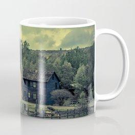 Historic Miners Village Coal Mining Town Pennsylvania Eckley Rural Living Coffee Mug