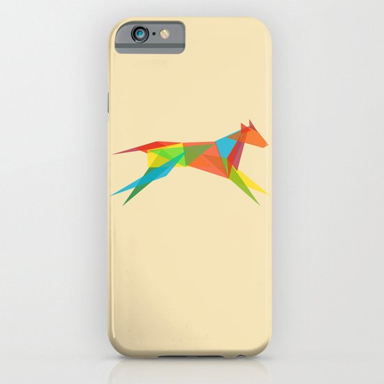 Fractal Geometric Dog iPhone & iPod Case