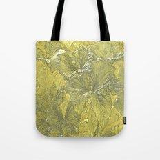 Vintage Nature Gold Tote Bag