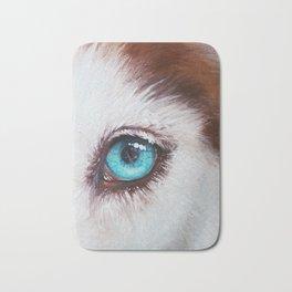 Husky's eye Bath Mat