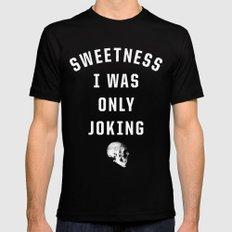 Sweetness Mens Fitted Tee MEDIUM Black
