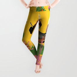 SURREAL KNOWLEDGE Leggings