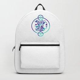 Gemini Astrological Birth Sign Astrology Horoscope Geminis Gift Backpack