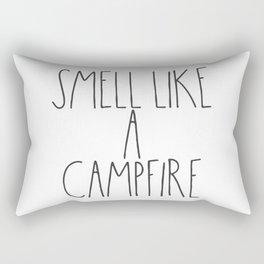 Smell Like a Campfire Rectangular Pillow
