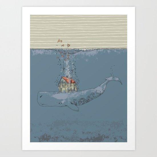 Ocean Home Art Print