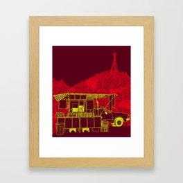 Caldo de Cana Framed Art Print