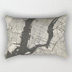 New York - Ink lines Rectangular Pillow