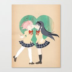 Papercraft Lovers Canvas Print