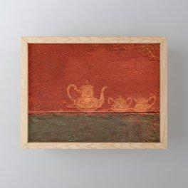 Caipirinha de Café Framed Mini Art Print