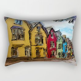 To The Harbor Rectangular Pillow