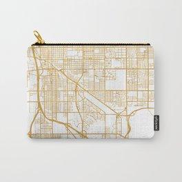 TUCSON ARIZONA CITY STREET MAP ART Carry-All Pouch