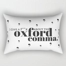 Grammarians Unite (Oxford Comma) Rectangular Pillow