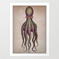 Gigantic Octopus Art Print