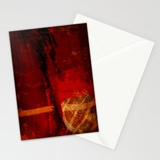 Abstract Red Light Stationery Cards