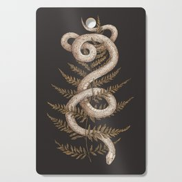 The Snake and Fern Cutting Board