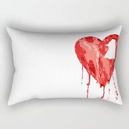 B/ood Heart Rectangular Pillow