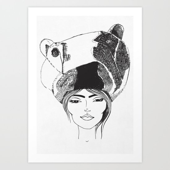 PolarGirl Art Print