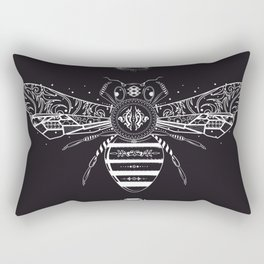 queen bee Rectangular Pillow