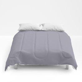 LILAC GRAY PANTONE 16-3905 Comforters
