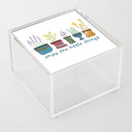 Enjoy the Little Things Acrylic Box