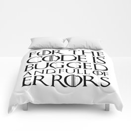 For Comforters