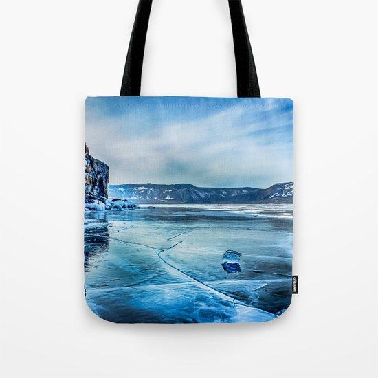 Lake Baikal. March Tote Bag