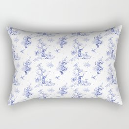 Ravenclaw Toile Rectangular Pillow